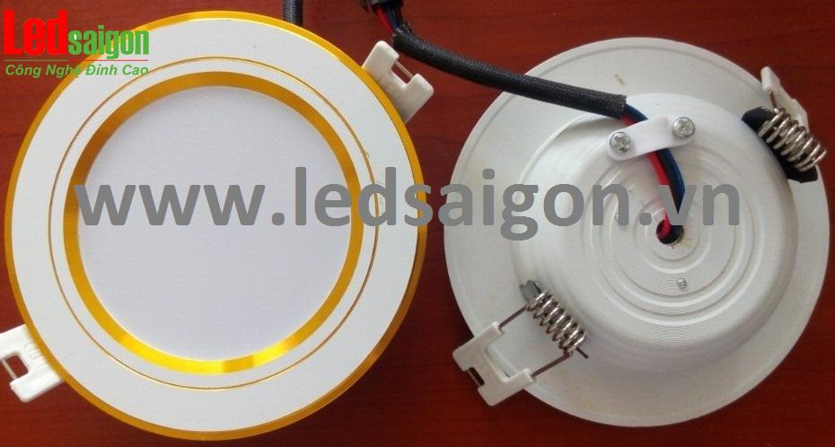 Đèn led âm trần mỏng loại tốt chuyên dùng cho ngành xây dựng