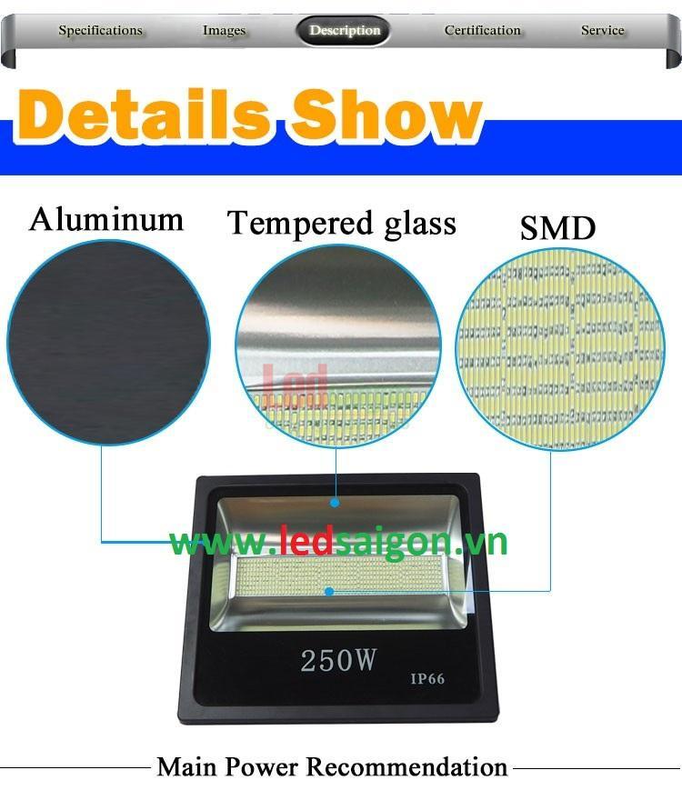 Đèn pha chíp led SMD