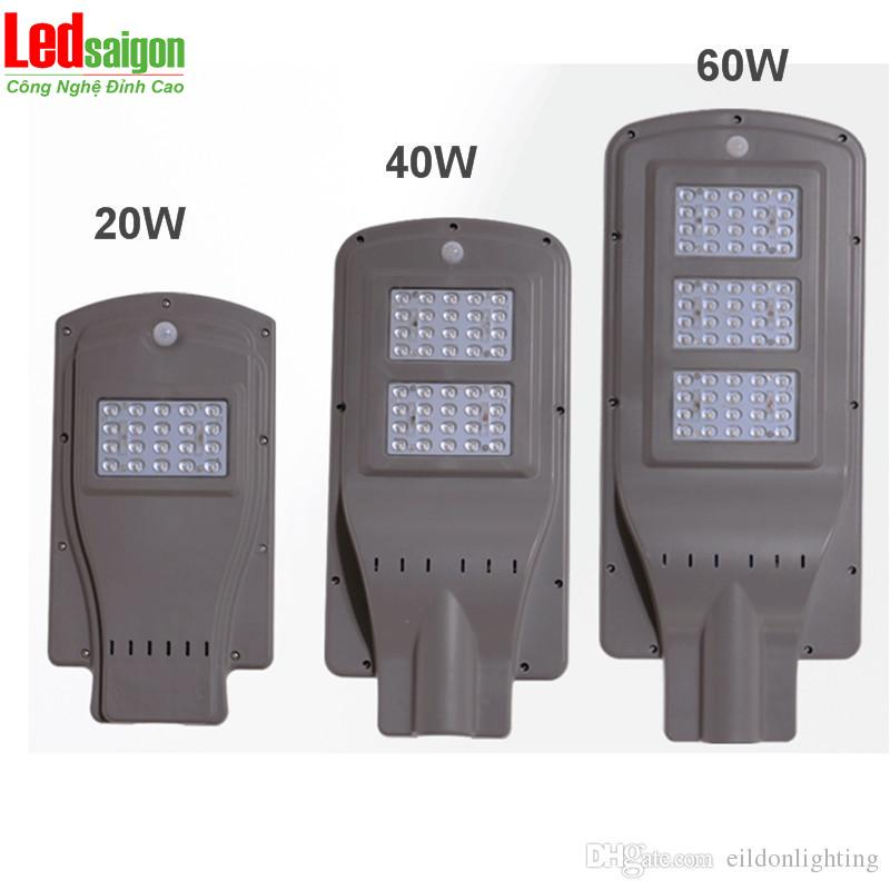 Đèn đường led năng lượng mặt trời 60w loại tốt