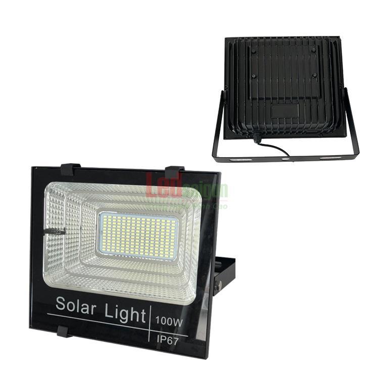 đèn pha năng lượng mặt trời 100w cao cấp