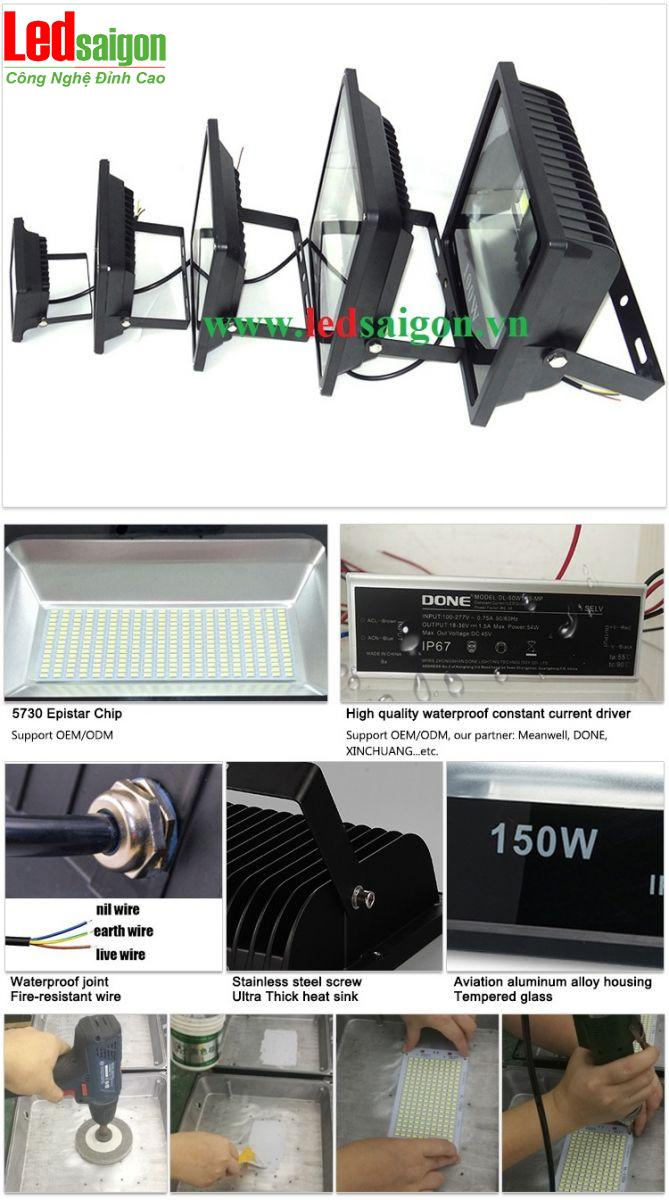 Đèn pha SMD 150W