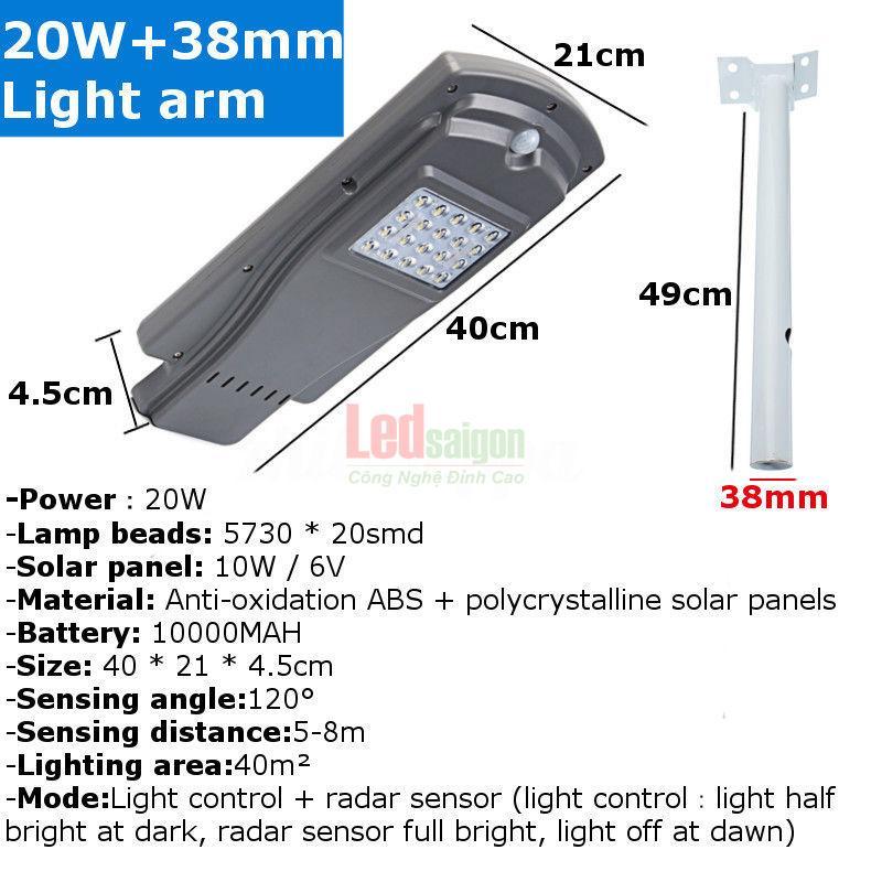 Công ty bán đèn đường năng lượng mặt trời tại TPHCM