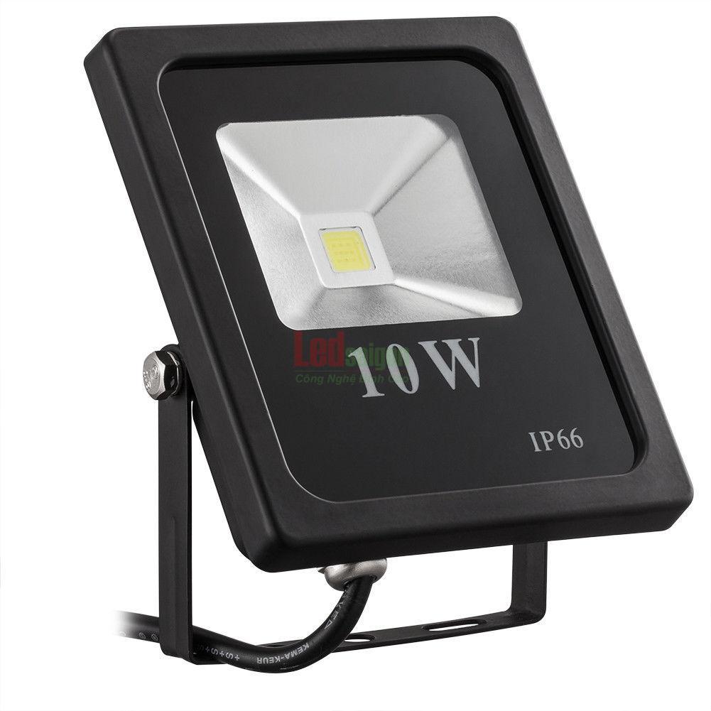 đèn led pha 10w bảo hành 2 năm