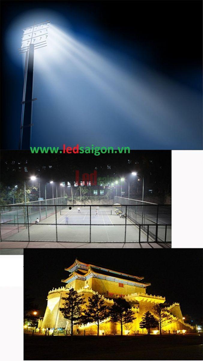 đèn pha sân bóng đá mini