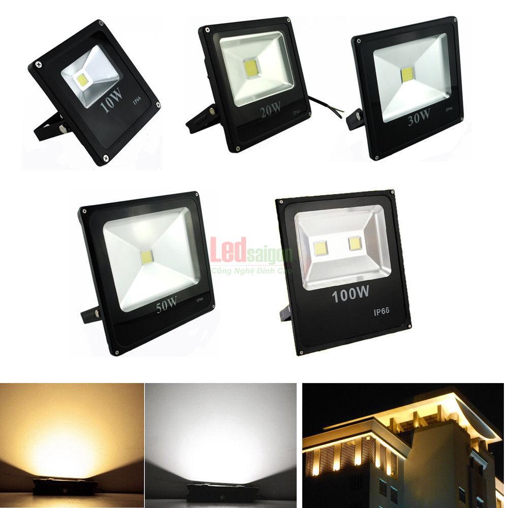 giá đèn pha led tại TPHCM