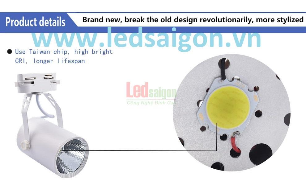 đèn led rọi ray cob 30w