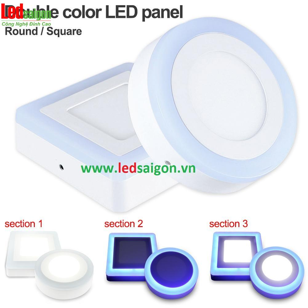 phân phối đèn led ốp nổi viền xanh dương tại tphcm