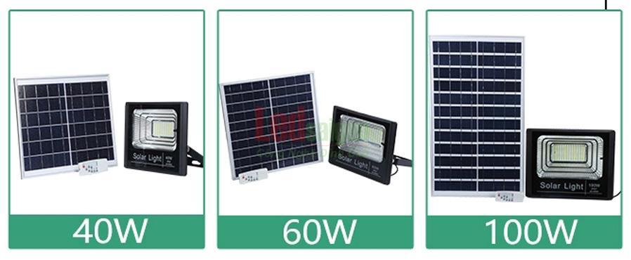 Bộ đèn pha năng lượng mặt trời 560w