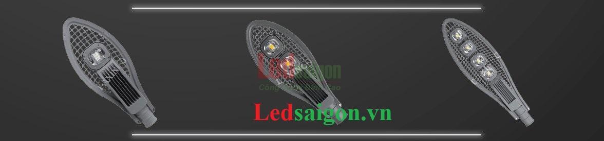 Đèn đường chiếc lá 150w kiểu lưới
