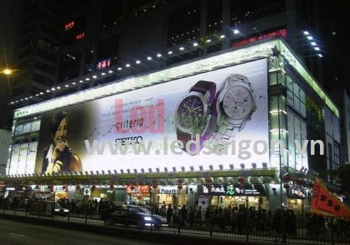 đèn pha chiếu sáng biển hiệu quảng cáo