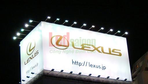 đèn pha sử dụng cho biển quảng cáo