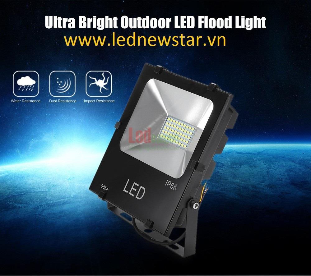 Đèn pha led 100w smd 5054