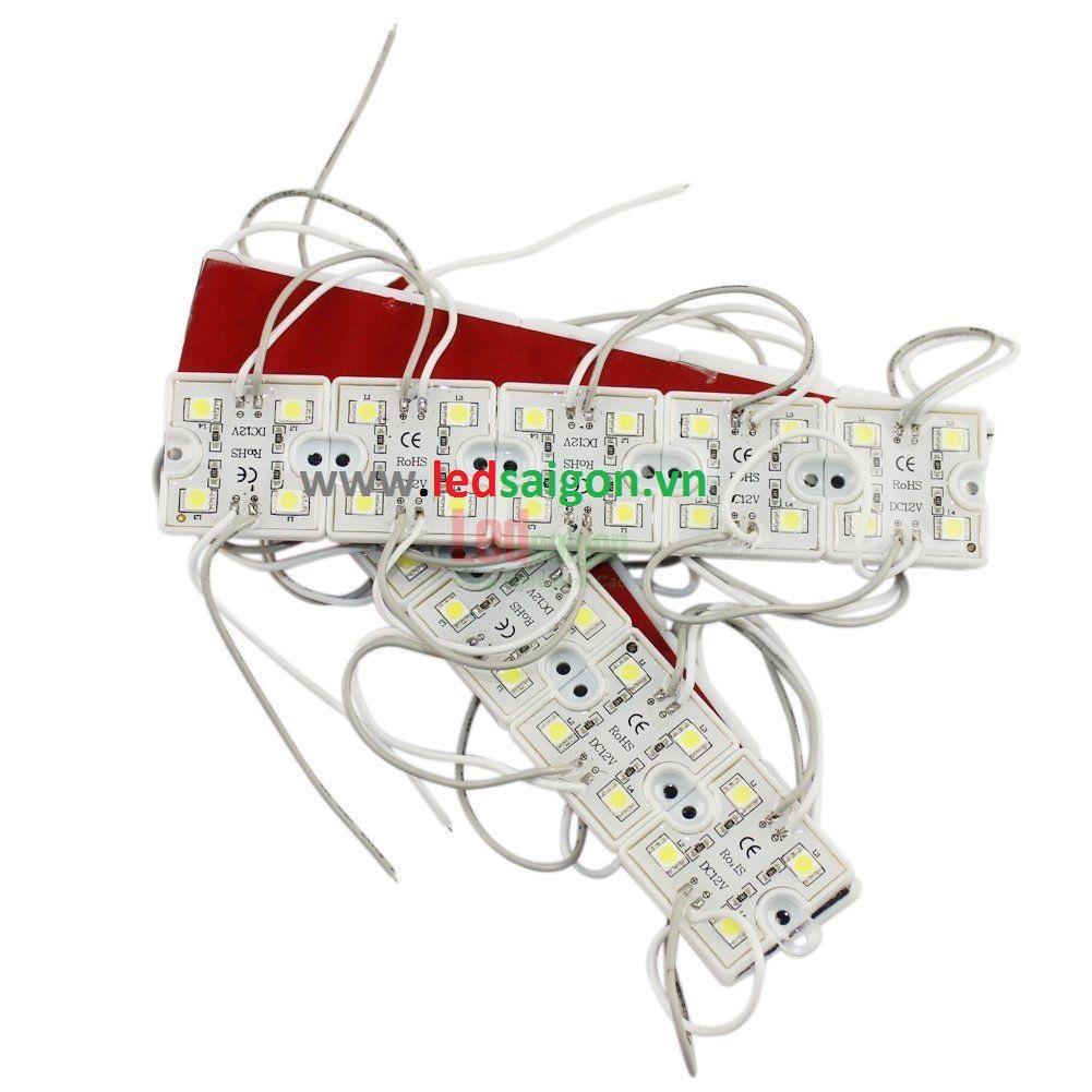 Led module 4 bóng đế nhựa