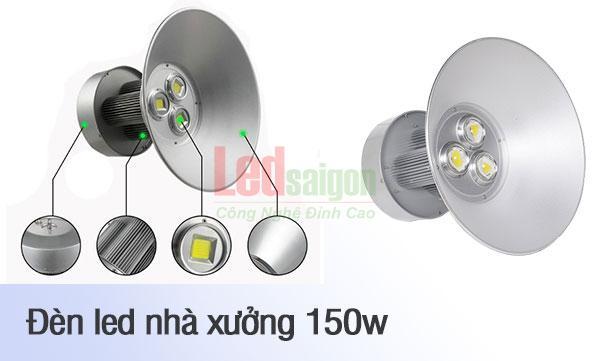 đèn nhà xưởng 150w