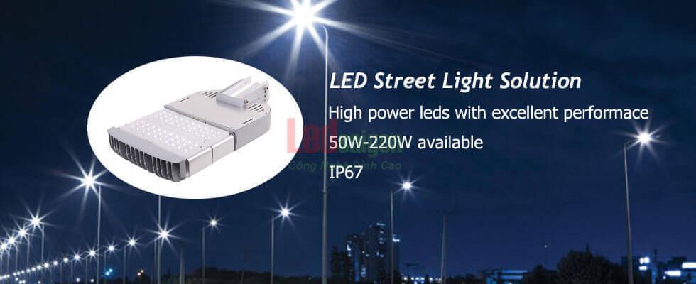 đèn led đường phố 50w