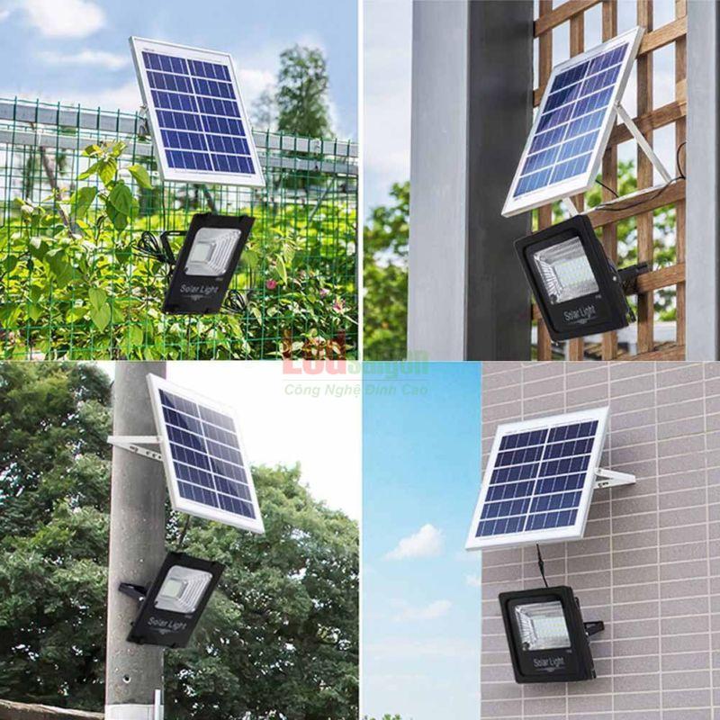 ứng dụng của đèn năng lượng mặt trời