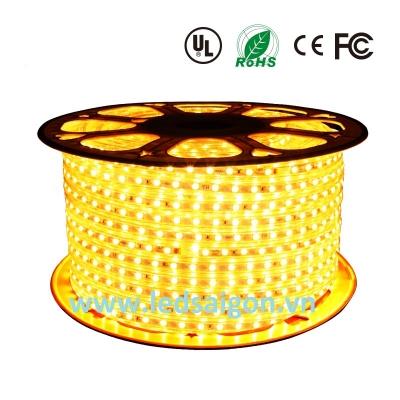 Led Cuộn 100M SMD 5050 Vàng