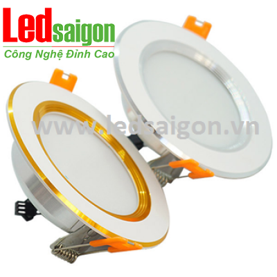 Downlight 7W Newstar 3 Màu