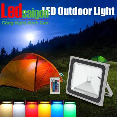 Đèn Pha Led 50W RGB