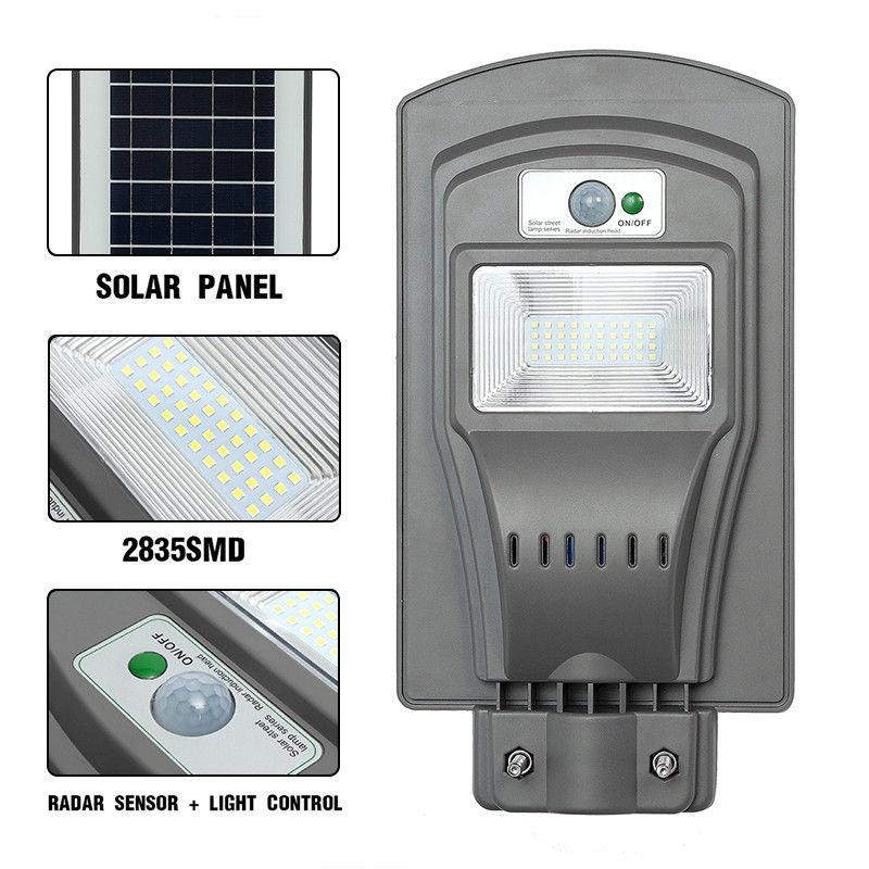 Đèn đường năng lượng mặt trời 20w loại tốt